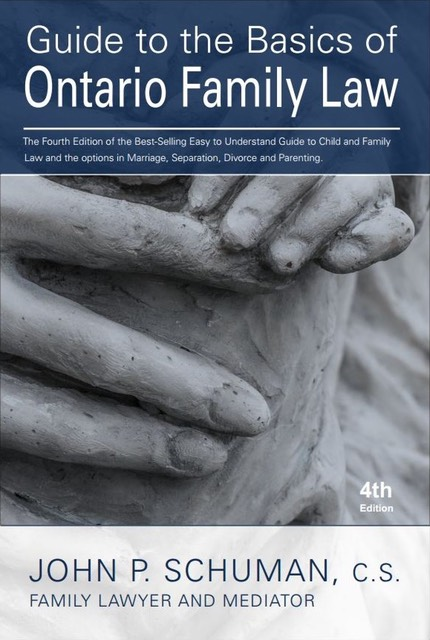 4th edition of the Guide to the Basics of Ontario Family Law