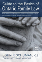 Book - Guide to the Basics of Ontario Family Law