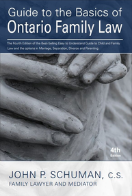 The Guide to the Basics of Ontario Family Law - $20 easy to understand book on Ontario Family Law and Ontario Family Court