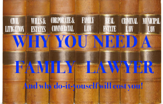 why you need a lawyer and why do it yourself will cost you